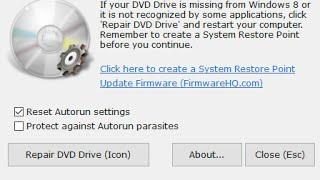 Windows 10 не видит DVD привод