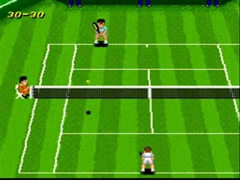 SNESOT Super Tennis Online Tour - GW vs Retro - Wimbledon 2012 Part 1/2