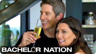 Becca's Whirlwind First Date With Arie!   The Bachelor US