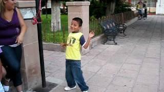 Chuy bailando en rodeo durango vacaciones julio 2009