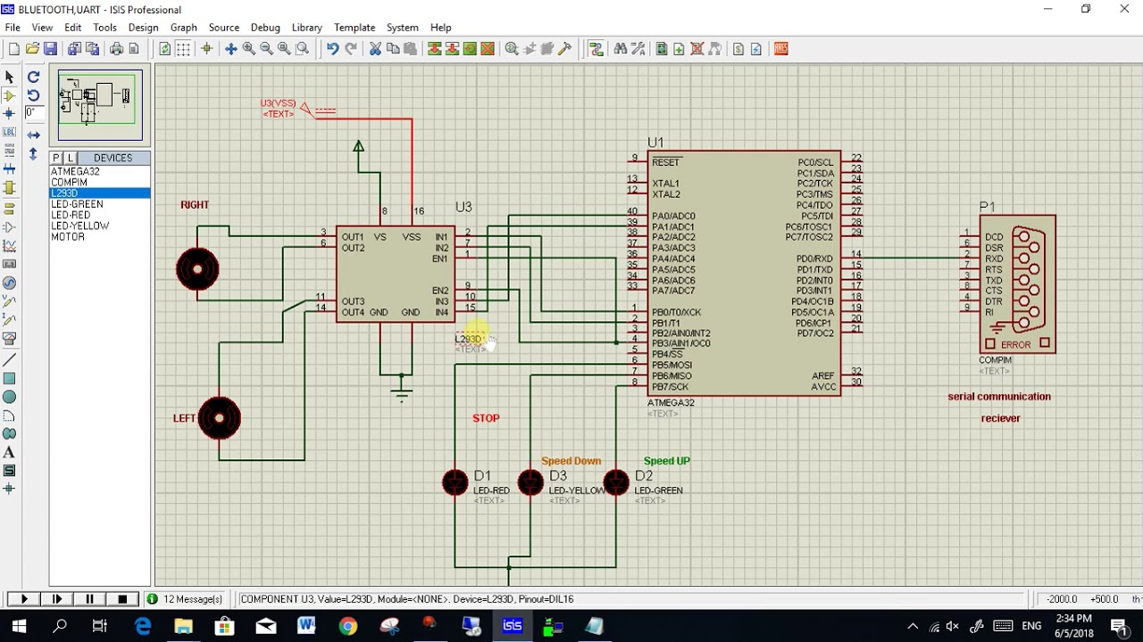 lm35 interfacing with atmega32(code+design) by MechaTerrain