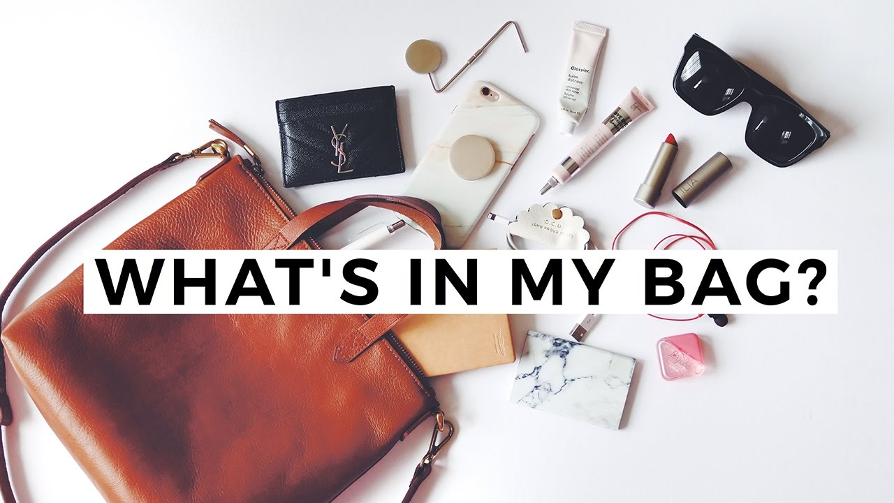 Whats In My Bag  Madewell Mini Transport Tote  YouTube