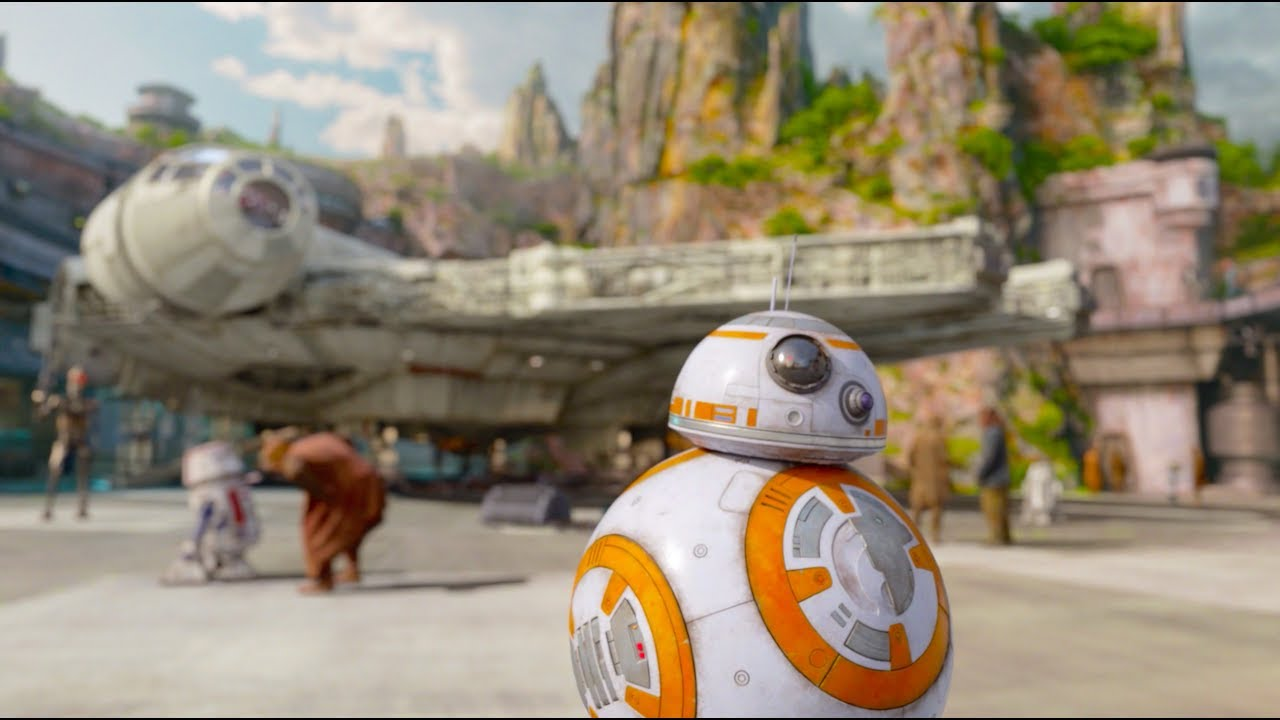 Star Wars : Galaxy's edge an Upcoming breathtaking Disney theme park