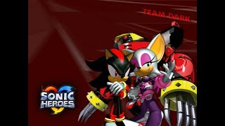 Sonic Heroes - Часть 2 (TEAM DARK) 1080p/60