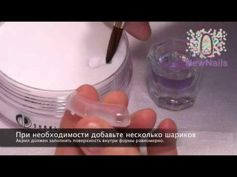 Как научиться аккуратно наносить гель лак на ногти новичку