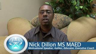 Nicholas Dillon, Speaking on Positive Self-Talk