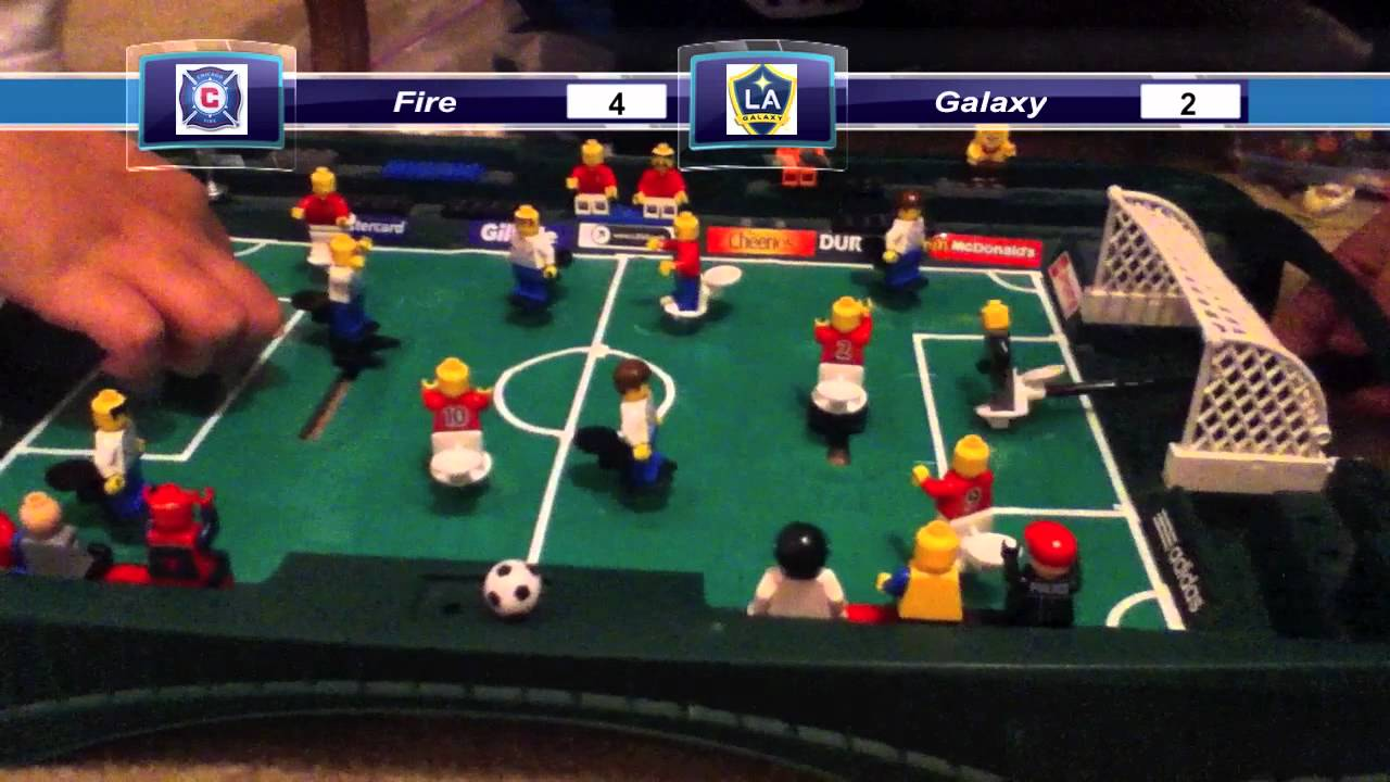 Lego MLS Season 1 Match 1 Chicago Fire vs LA Galaxy