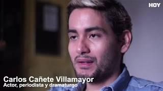 Carlos Cañete: Cuando el telón de la vida baja repentinamente y el arte se vuelve medicina