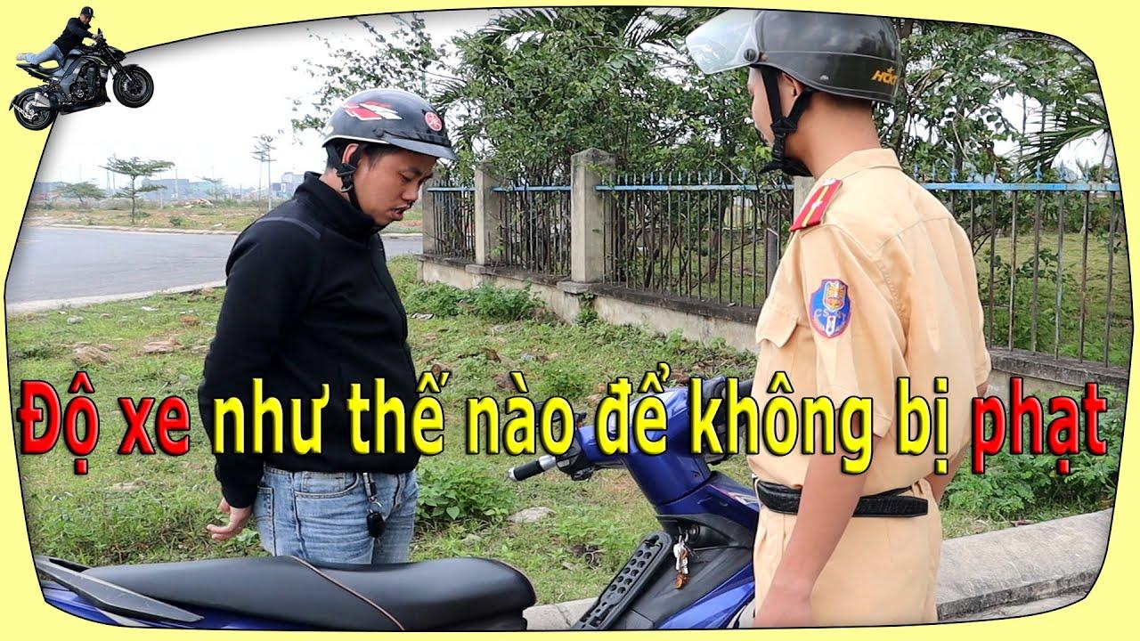 Độ xe như thế nào để không bị phạt (Moto Vlogs)   Đức Mạnh Official