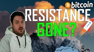 Bitcoin Resistance GONE?