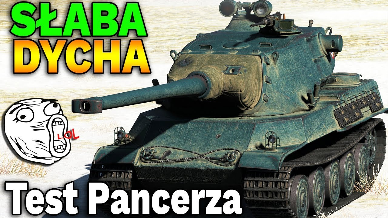NAJGORSZA DYCHA? – AMX M4 mle. 54 – Test pancerza – World of Tanks