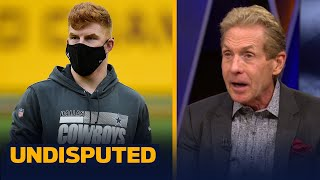 Skip reacts to Andy Dalton not playing against Steelers, 'Cowboys have no chance' | NFL | UNDISPUTED