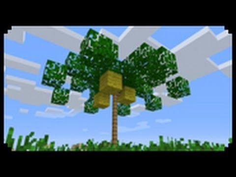 ✔ Minecraft: How to make a palm tree