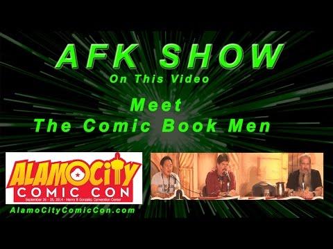 Meet AMC Networks The Comic Book Men from Alamo City Comic Con 2014
