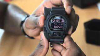 GSHOCK DW6900MS-1 UNBOXING AND REVIEW!