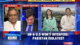 The Newshour Debate: Pakistan kills civilians again - Full Debate (8th Oct 2014)