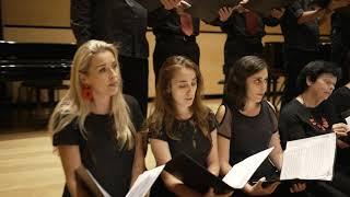 מקהלת ברתיני -  Shchedryk - Ukrainian Folk Song