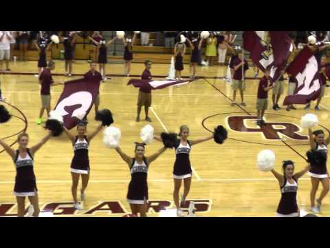2013 CRHS Pep Rally - Fight song