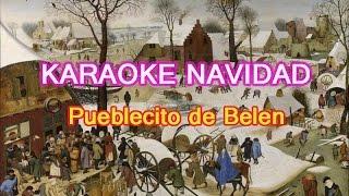 Karaoke Villancicos Pueblecito de Belen Navidad