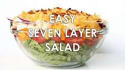 7-Layer Salad Recipe With Mayonnaise (Quick & Easy)
