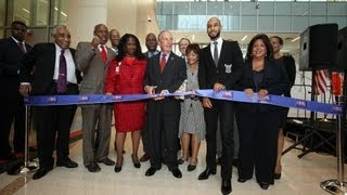 Mayor Bloomberg Speaks at the Harlem Hospital Patient Center Pavilion Ribbon Cutting Ceremony
