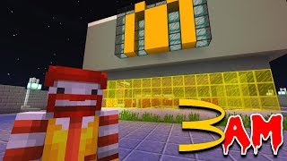 Do NOT Go to McDonalds in Minecraft Pocket Edition at 3:00 AM!!!