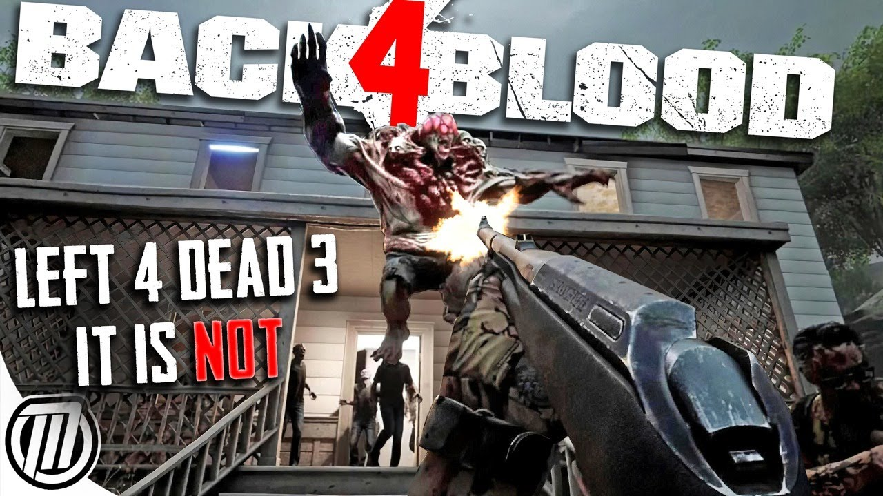BACK 4 BLOOD: It Ain't Left 4 Dead | BETA Gameplay Impressions - YouTube