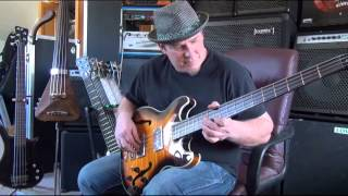 Warwick Product Specialist Andy Irvine Demo Pro Series Star Bass