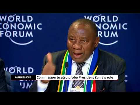 Cyril Ramaphosa reacts to state capture terms of reference