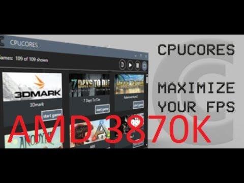 cpucores maximize your fps pubg
