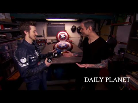 Daily Planet Segment: Captain America Electromagnet Shield