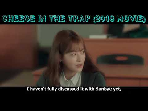 Yoo Jung Reveals His Relationship With Hong Seol | Cheese In The Trap (2018 Movie)