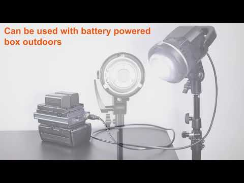 GVM LS-P80S Daylight LED Light Kit with Umbrella