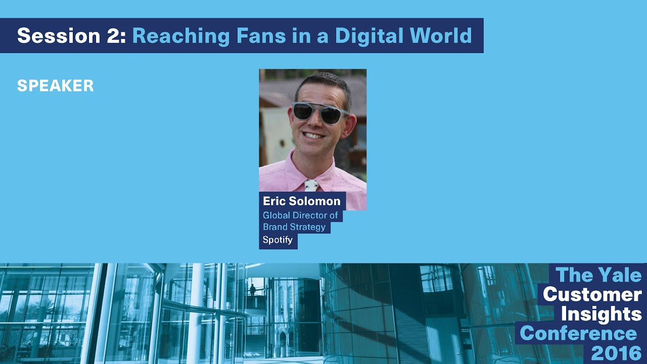 Eric solomon spotify holding up the mirror fan centricity in eric solomon spotify holding up the mirror fan centricity in the 21st century youtube malvernweather Choice Image