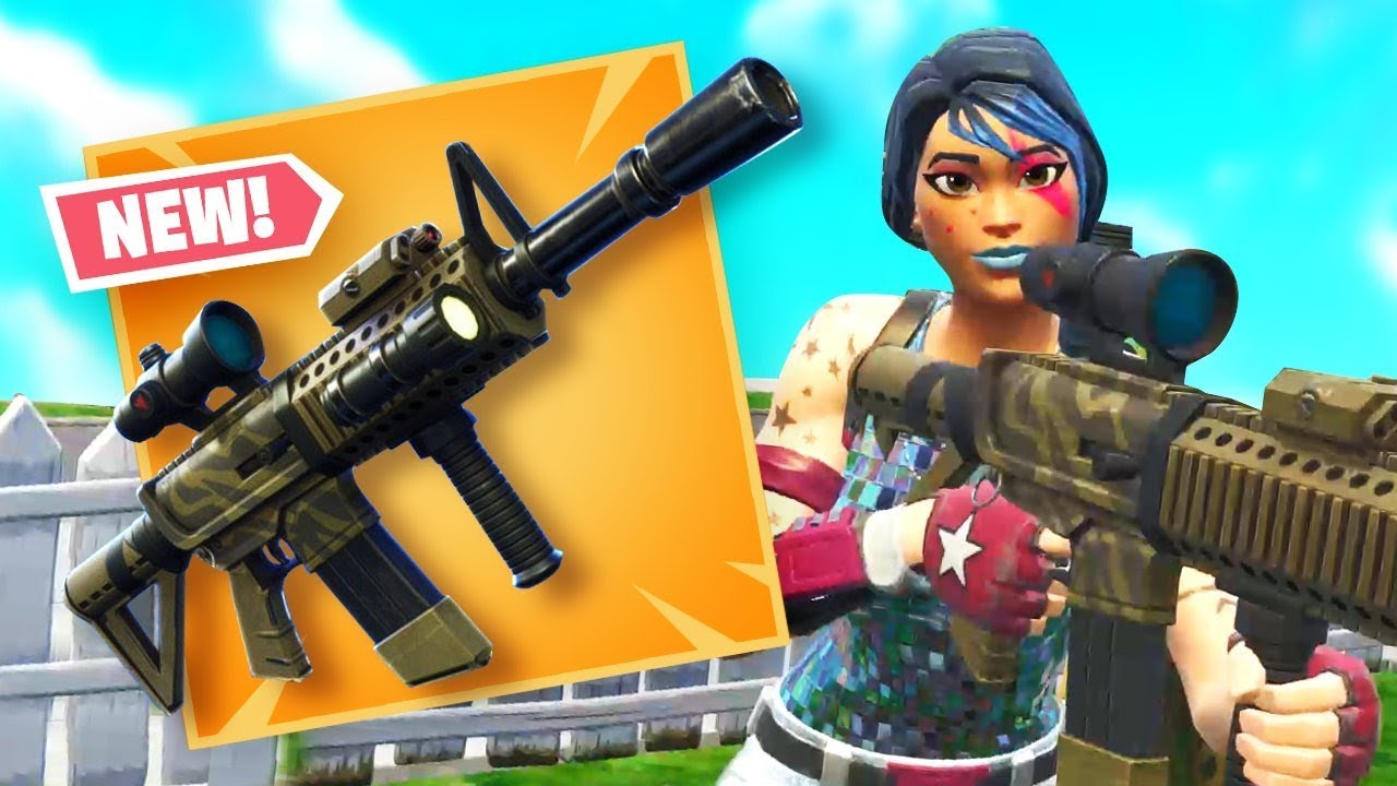 *NEW* THERMAL AR Gameplay in Fortnite Battle Royale