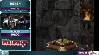 Hexen by Cubeface in 33:09- SGDQ 2016 - Part 99