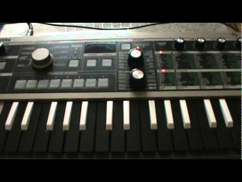 intimate  crystal castles on the korg ms2000 and microkorg