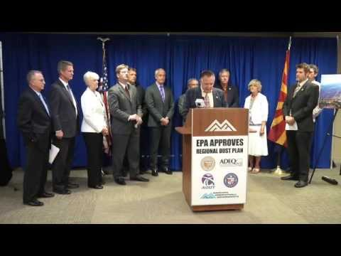 EPA Approval of Regional Dust Plan Press Conference