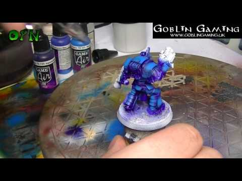 How to paint a Space Marine Praetor