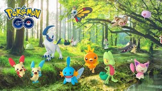 GEN 3 WILL BE HERE IN THE NEXT FEW DAYS!! WEATHER INTRODUCTION AS WELL!! POKEMON GO