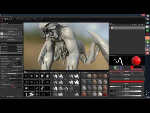 UDIM BRIDGE: Mari Zbrush  to Substance designer Painter  Quixel Suite PART3