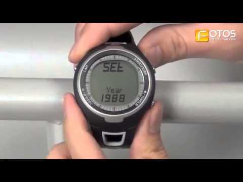 Reloj pulsómetro Podómetro Sigma RC1209 - YouTube