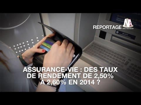 Assurance-vie : Des taux de rendement de 2,50% à 2,60% en 2014 ?