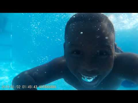 Underwater Surveillance Camera Captures ItsJFunk & Soinlovefamily in Swimming Pool