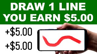 Make Money Drawing Lines in 30 Seconds! ($5 Each) FREE Make Money Online   Branson Tay
