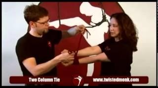 Как  красиво связать руки