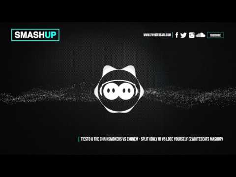 Tiesto & Chainsmokers vs Eminem - Split (Only u) vs Lose yourself (WhiteBeats Mashup)