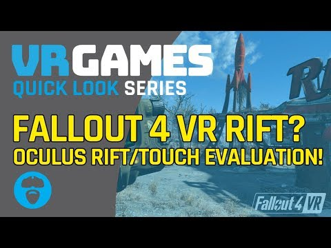 REQUEST TO SEE RIFT GAMEPLAY |  FALLOUT 4 VR (RIFT)