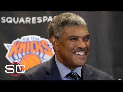 The Knicks fire president Steve Mills, James Dolan targeting Masai Ujiri | SportsCenter