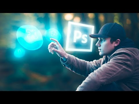 Make OBJECTS GLOW using this simple technique | Photoshop tutorial thumbnail